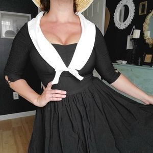 Unique Vintage Sailor dress